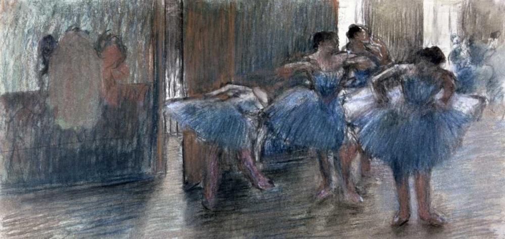Dancers von Degas, Edgar <br> max. 130 x 61cm <br> Preis: ab 10€