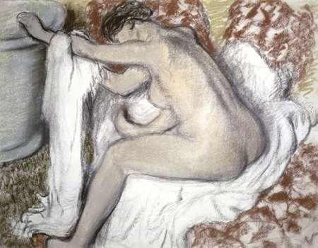 Leaving the Bath (Le Sortie du Bain) von Degas, Edgar <br> max. 102 x 79cm <br> Preis: ab 10€