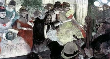 konfigurieren des Kunstdrucks in Wunschgröße Orchestra Pit von Degas, Edgar