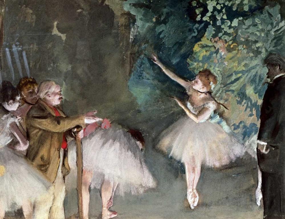 konfigurieren des Kunstdrucks in Wunschgröße Repetition de Ballet von Degas, Edgar