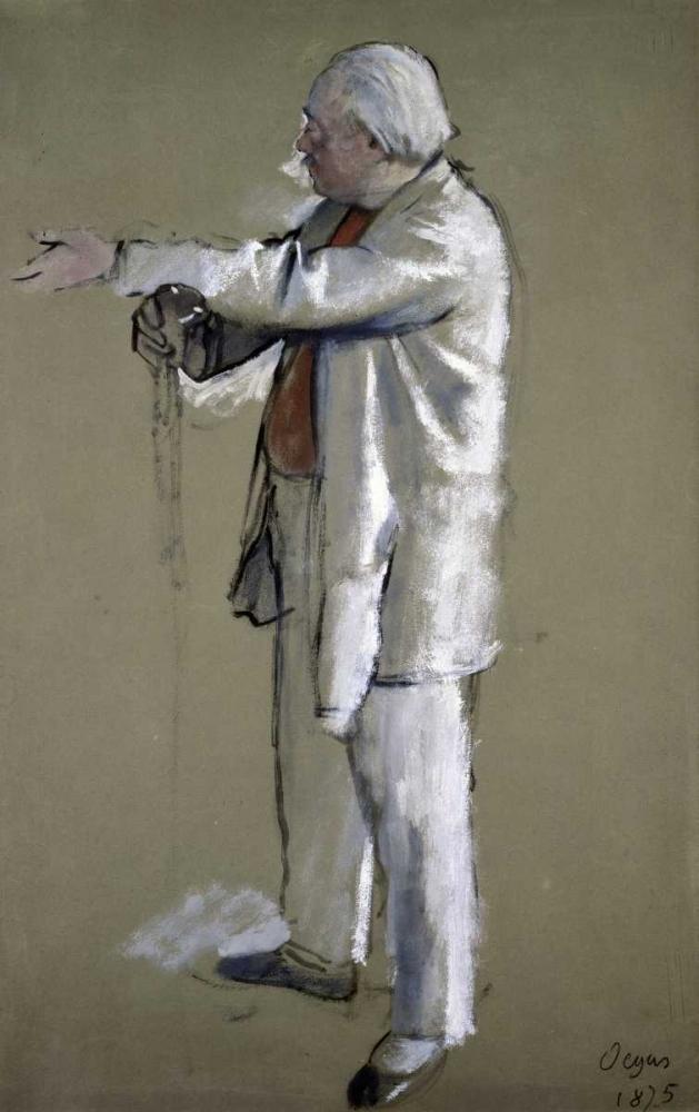 konfigurieren des Kunstdrucks in Wunschgröße The Ballet Master von Degas, Edgar