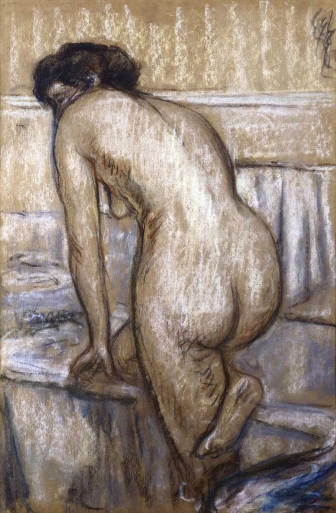 konfigurieren des Kunstdrucks in Wunschgröße The Bath von Degas, Edgar