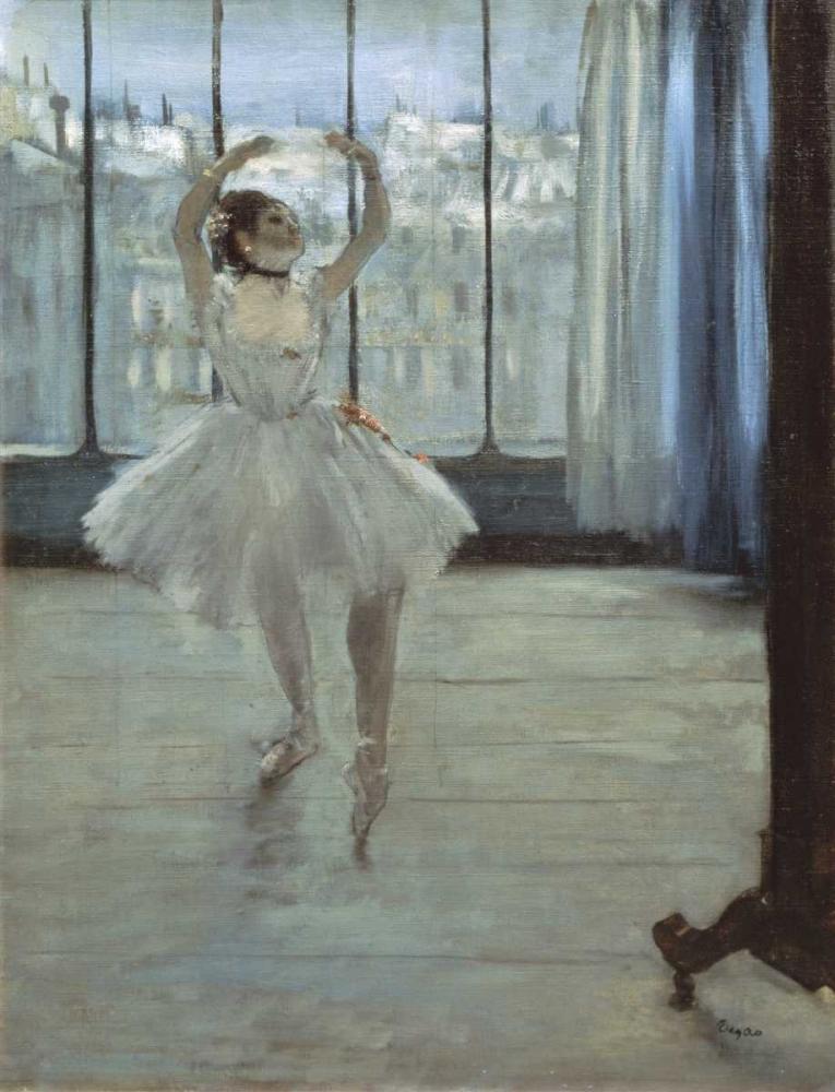 konfigurieren des Kunstdrucks in Wunschgröße The Dancer at the Studio von Degas, Edgar
