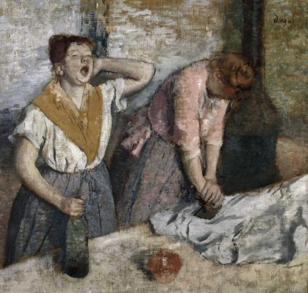 konfigurieren des Kunstdrucks in Wunschgröße The Ironers von Degas, Edgar