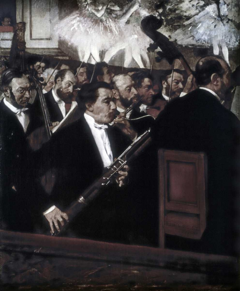 konfigurieren des Kunstdrucks in Wunschgröße The Orchestra of the Opera von Degas, Edgar