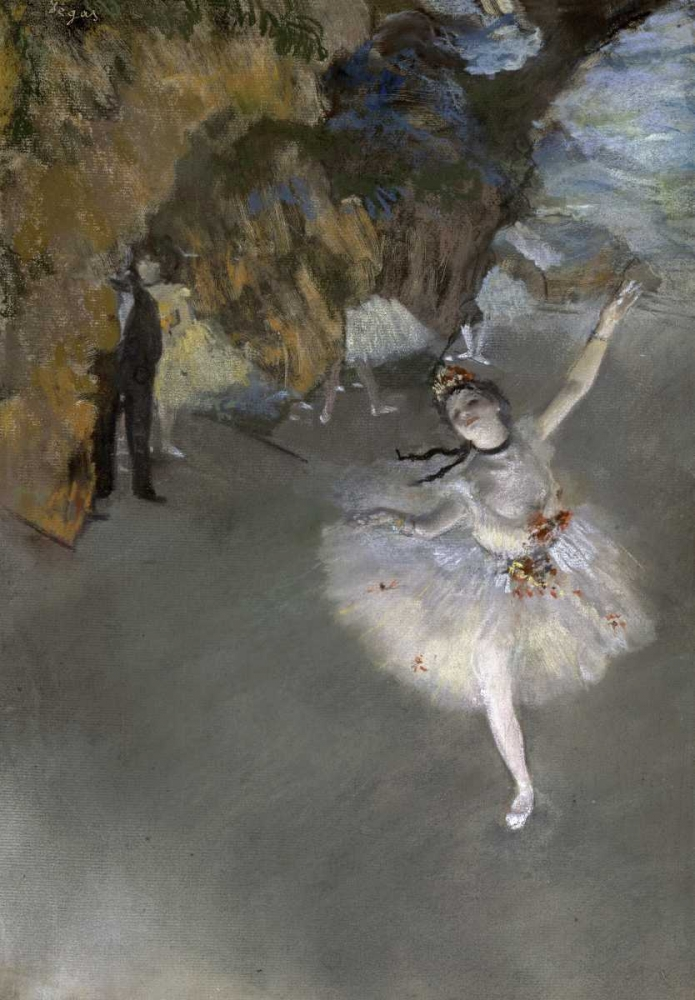 konfigurieren des Kunstdrucks in Wunschgröße The Star von Degas, Edgar