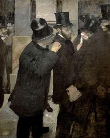 konfigurieren des Kunstdrucks in Wunschgröße The Stock Exchange von Degas, Edgar