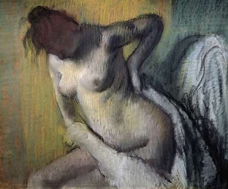 Woman Drying Herself von Degas, Edgar <br> max. 102 x 84cm <br> Preis: ab 10€