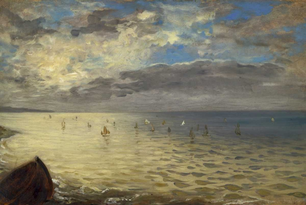The Dieppe Sea von Delacroix, Eugene <br> max. 109 x 74cm <br> Preis: ab 10€