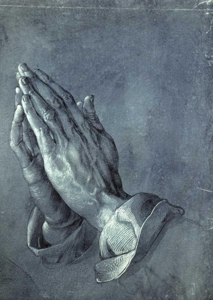 Praying Hands von Durer, Albrecht <br> max. 76 x 107cm <br> Preis: ab 10€
