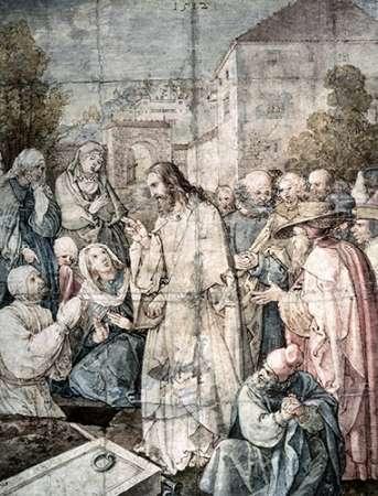 Resurrection of Lazarus von Durer, Albrecht <br> max. 76 x 102cm <br> Preis: ab 10€