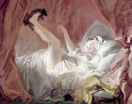 konfigurieren des Kunstdrucks in Wunschgröße La Giambette von Fragonard, Jean Honore