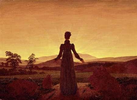 konfigurieren des Kunstdrucks in Wunschgröße Morning Light von Friedrich, Caspar David