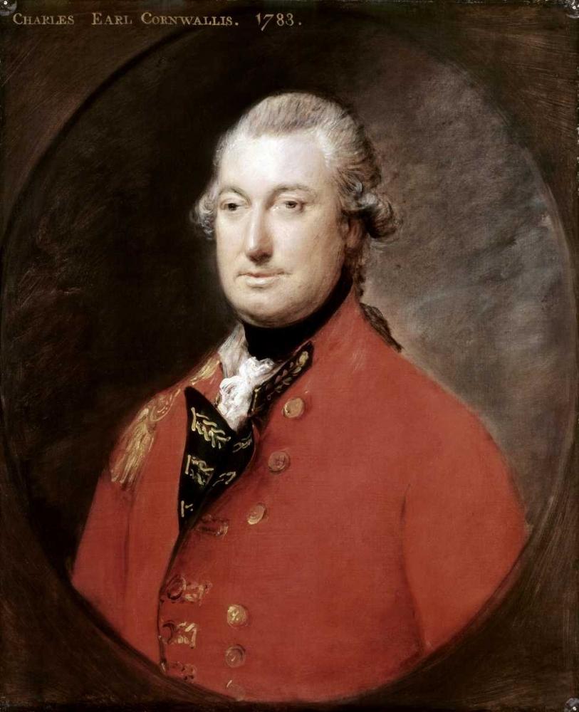 konfigurieren des Kunstdrucks in Wunschgröße Charles Cornwallis von Gainsborough, Thomas