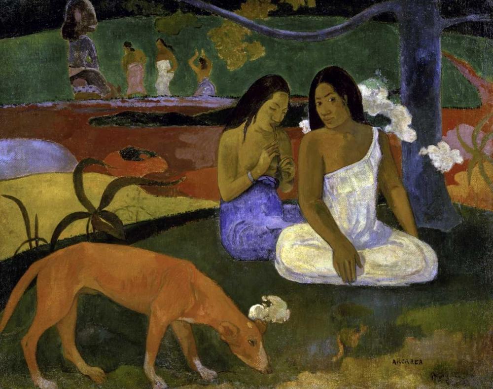konfigurieren des Kunstdrucks in Wunschgröße Arearea - Joyousness von Gauguin, Paul