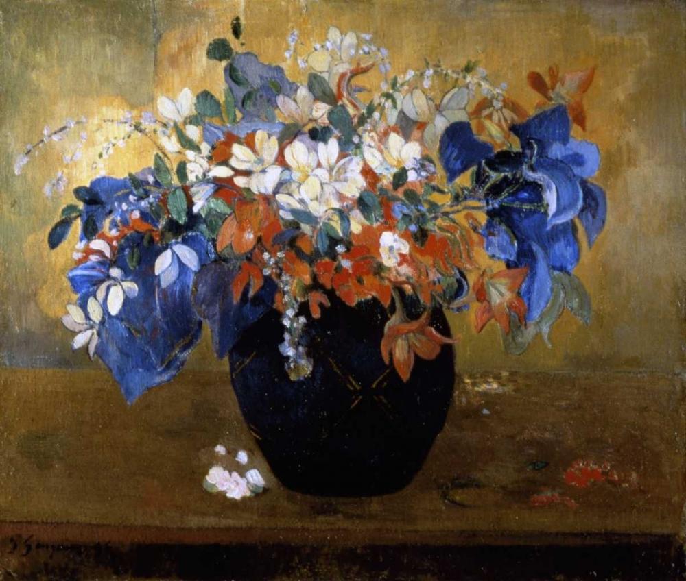 Flower Piece von Gauguin, Paul <br> max. 81 x 69cm <br> Preis: ab 10€