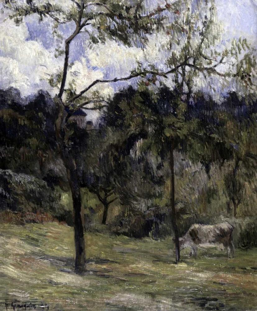konfigurieren des Kunstdrucks in Wunschgröße Landscape of Normandy von Gauguin, Paul