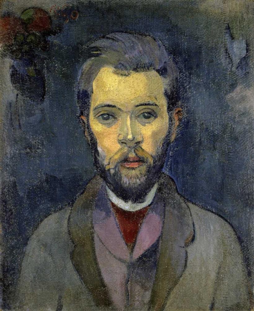 konfigurieren des Kunstdrucks in Wunschgröße Portrait of the Artist, - Portrait de lArtiste - ii von Gauguin, Paul