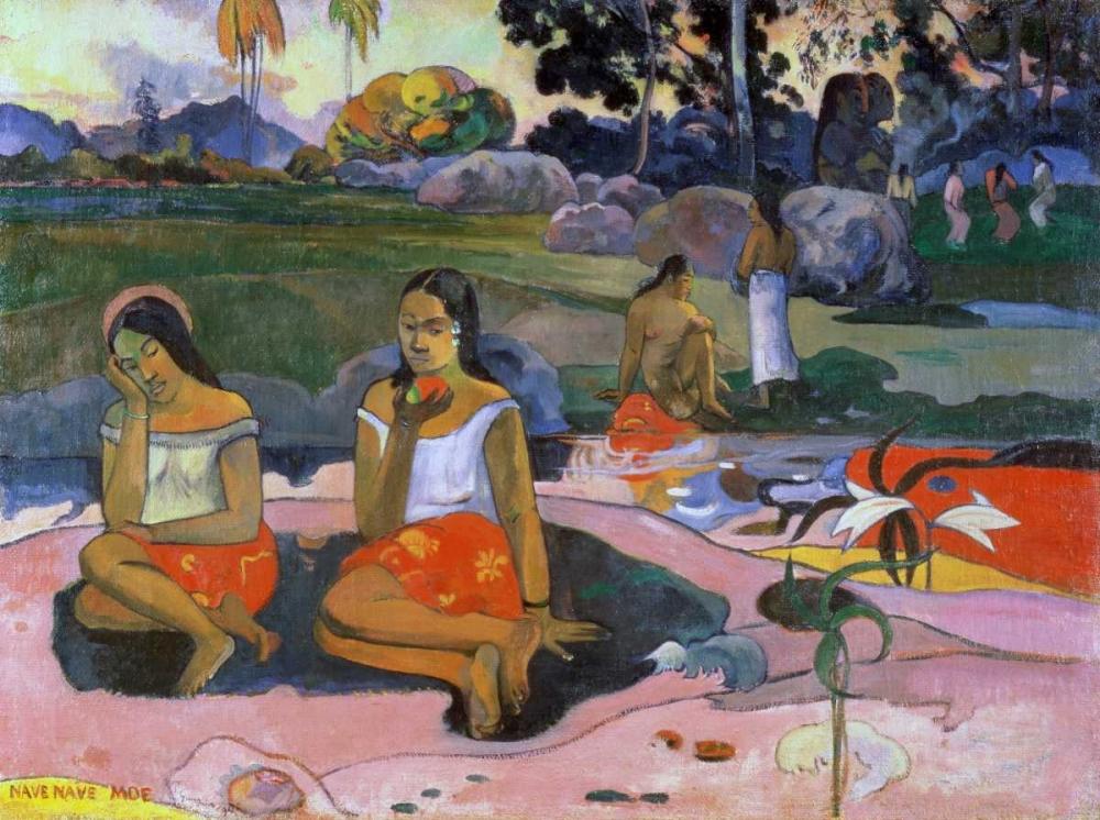 konfigurieren des Kunstdrucks in Wunschgröße Spring of Miracles von Gauguin, Paul
