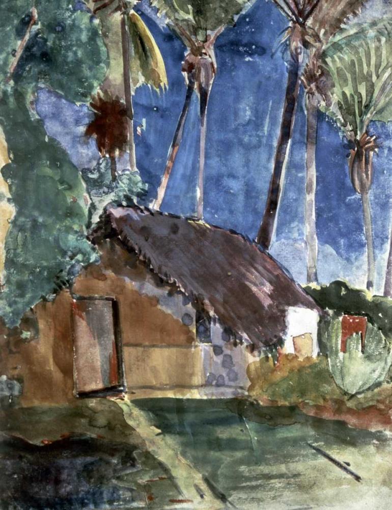 Tahiti Landscape von Gauguin, Paul <br> max. 76 x 102cm <br> Preis: ab 10€