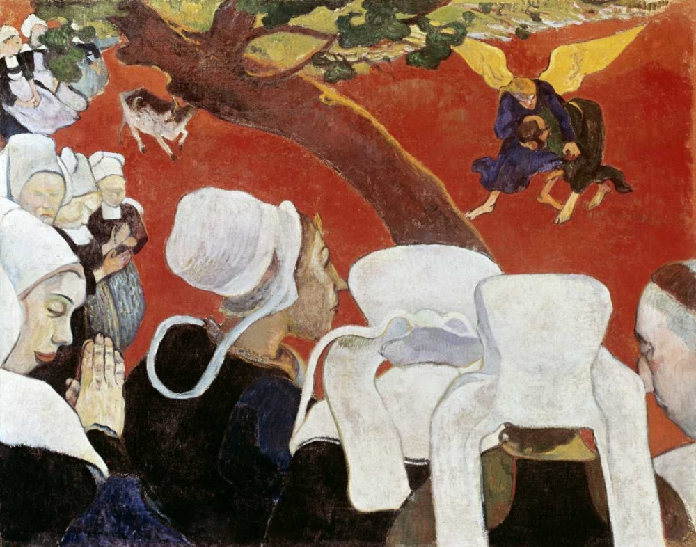 Vision After the Sermon von Gauguin, Paul <br> max. 99 x 76cm <br> Preis: ab 10€