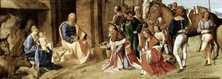 konfigurieren des Kunstdrucks in Wunschgröße Adoration of The Magi von Giorgione, Giorgio