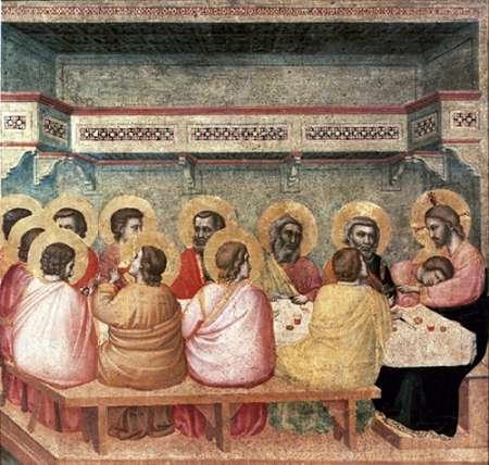konfigurieren des Kunstdrucks in Wunschgröße Last Supper von Giotto