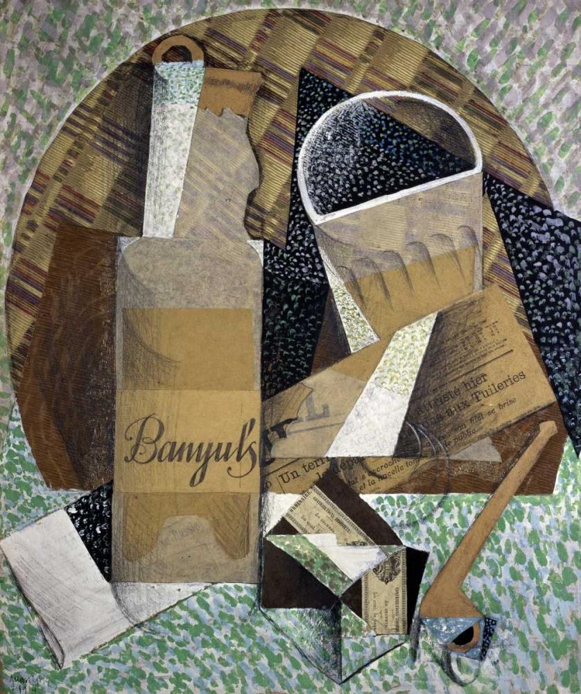 konfigurieren des Kunstdrucks in Wunschgröße Bottle of Banyuls von Gris, Juan