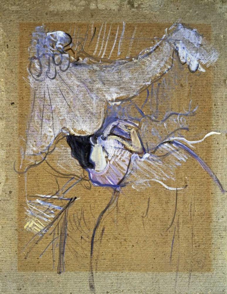 konfigurieren des Kunstdrucks in Wunschgröße Au Lit von Toulouse-Lautrec, Henri