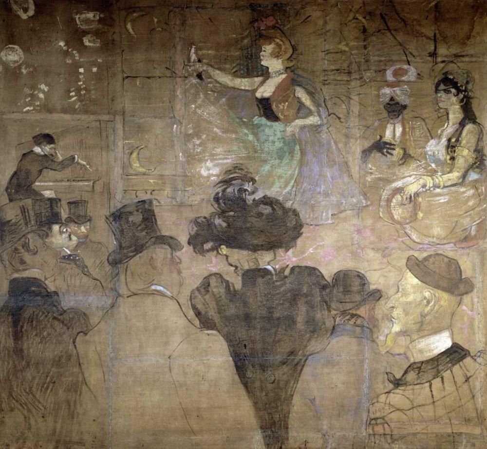 La Danse Mauresque ou les Almees von Toulouse-Lautrec, Henri <br> max. 91 x 84cm <br> Preis: ab 10€
