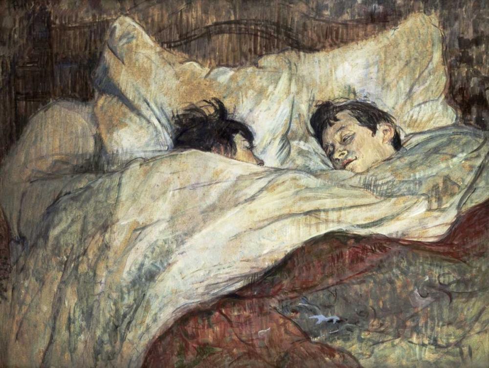 konfigurieren des Kunstdrucks in Wunschgröße Le Lit von Toulouse-Lautrec, Henri