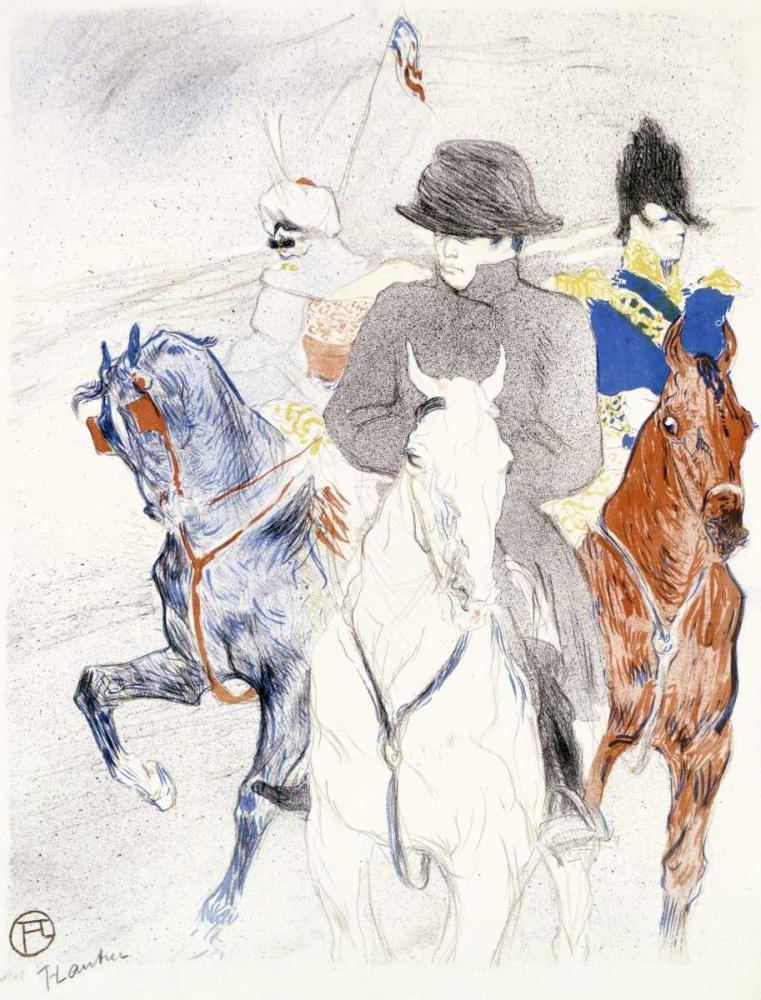 konfigurieren des Kunstdrucks in Wunschgröße Napoleon von Toulouse-Lautrec, Henri