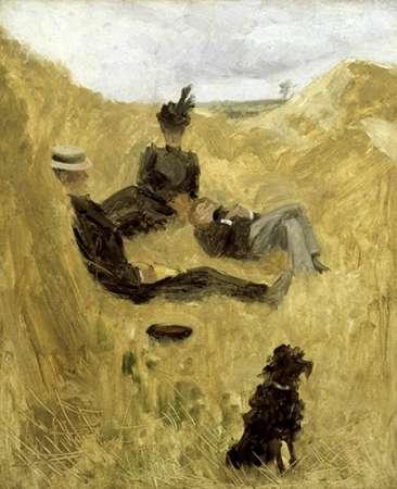 konfigurieren des Kunstdrucks in Wunschgröße Party in the Country von Toulouse-Lautrec, Henri