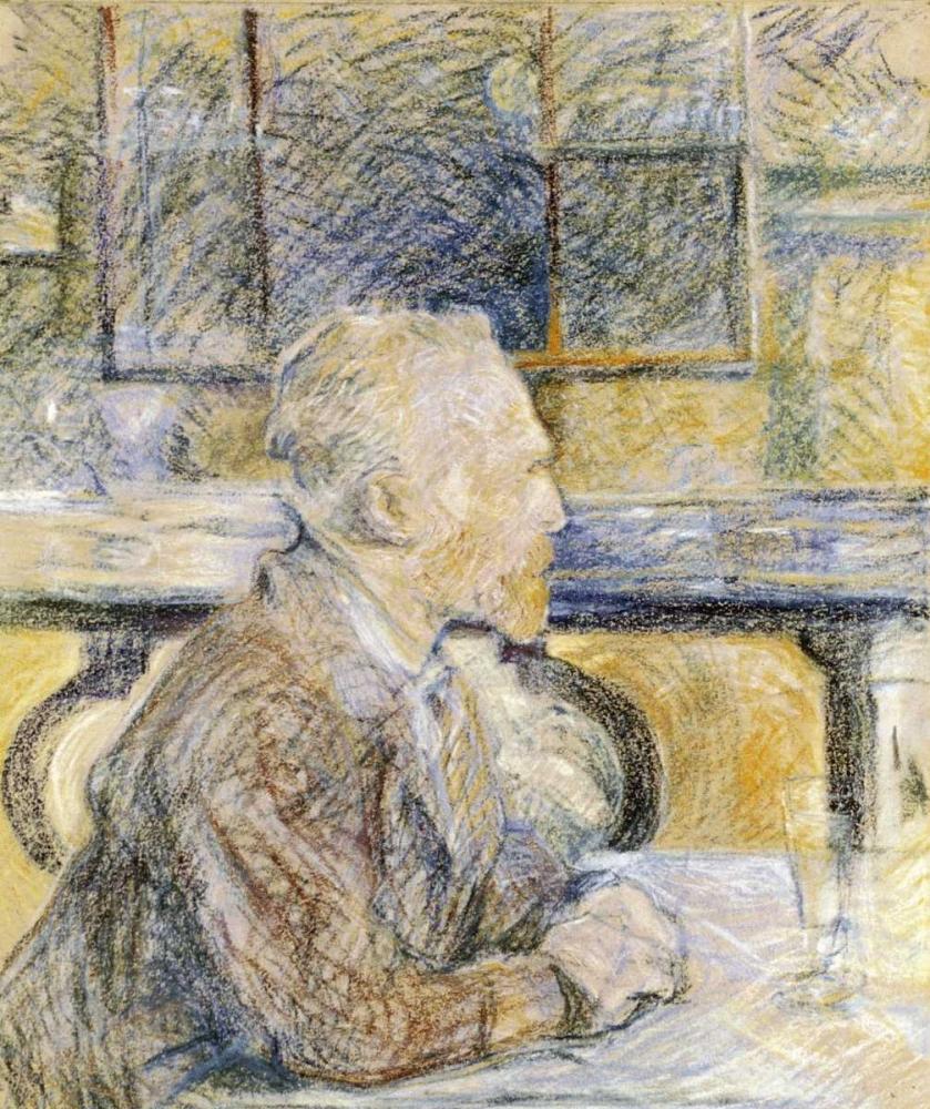 konfigurieren des Kunstdrucks in Wunschgröße Portrait of Van Gogh von Toulouse-Lautrec, Henri