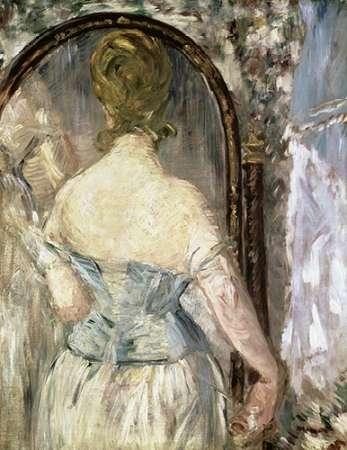 konfigurieren des Kunstdrucks in Wunschgröße Before the Mirror von Manet, Edouard