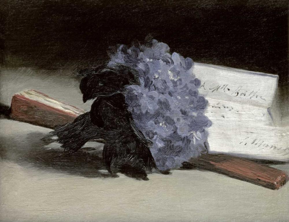 konfigurieren des Kunstdrucks in Wunschgröße Bunch of Violets von Manet, Edouard