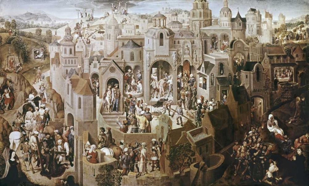 konfigurieren des Kunstdrucks in Wunschgröße Passion of Christ von Memling, Hans