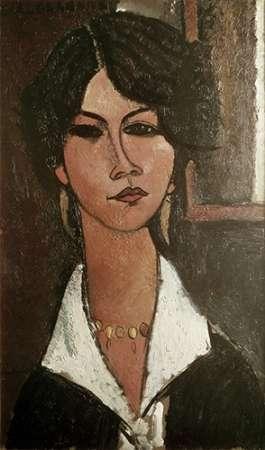 konfigurieren des Kunstdrucks in Wunschgröße Algerian 'Almaisa' von Modigliani, Amedeo