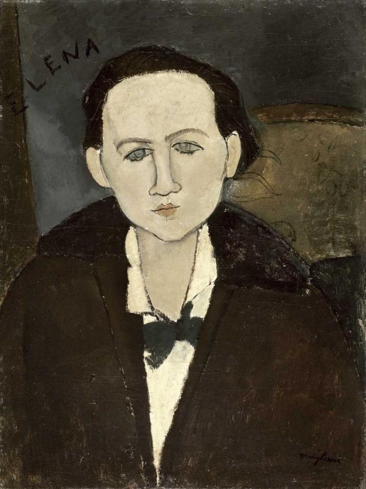 Elena Pawlowski von Modigliani, Amedeo <br> max. 76 x 102cm <br> Preis: ab 10€
