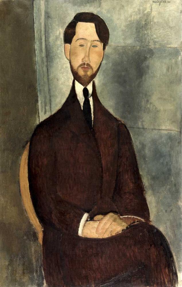 konfigurieren des Kunstdrucks in Wunschgröße Leopold Zborowski von Modigliani, Amedeo