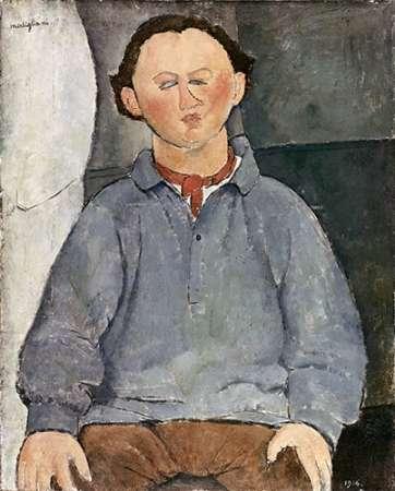 Portrait of a Man von Modigliani, Amedeo <br> max. 79 x 99cm <br> Preis: ab 10€