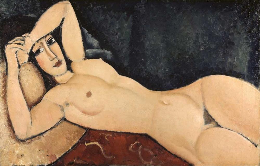 Reclining Nude von Modigliani, Amedeo <br> max. 112 x 71cm <br> Preis: ab 10€