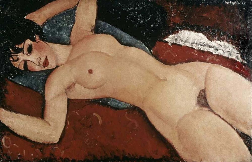 Reclining Nude von Modigliani, Amedeo <br> max. 114 x 74cm <br> Preis: ab 10€