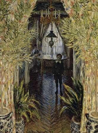 konfigurieren des Kunstdrucks in Wunschgröße A Corner of the Apartment von Monet, Claude