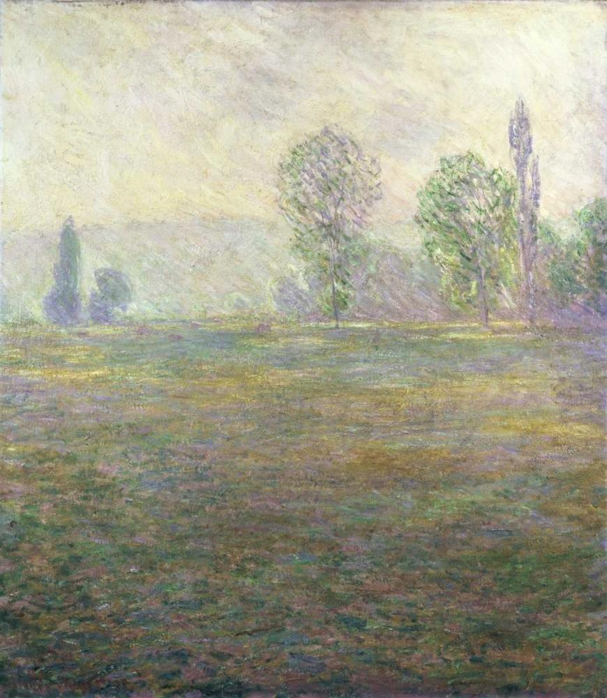 konfigurieren des Kunstdrucks in Wunschgröße A Meadow in Giverny von Monet, Claude