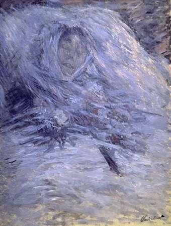 konfigurieren des Kunstdrucks in Wunschgröße Camille Monet on her Deathbed von Monet, Claude