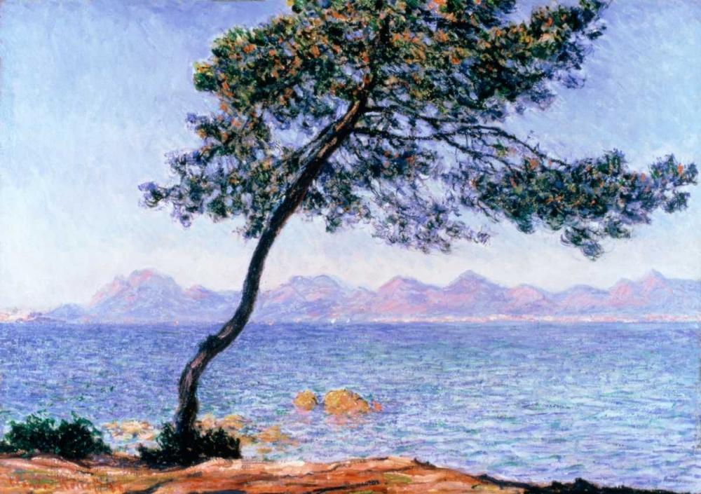 konfigurieren des Kunstdrucks in Wunschgröße Cap dAntibes von Monet, Claude