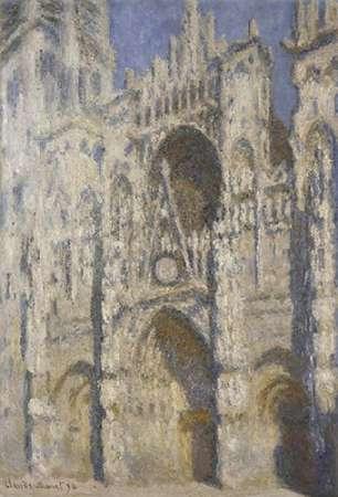konfigurieren des Kunstdrucks in Wunschgröße Cathedral of Rouen, Afternoon von Monet, Claude
