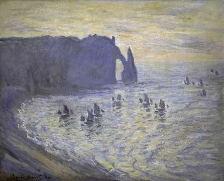 konfigurieren des Kunstdrucks in Wunschgröße Cliffs at Etretat von Monet, Claude