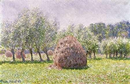 konfigurieren des Kunstdrucks in Wunschgröße Haystack von Monet, Claude
